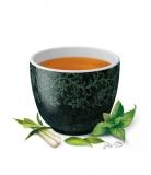Té verde y negro