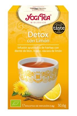 Yogitea Detox con Limón 17 bolsas