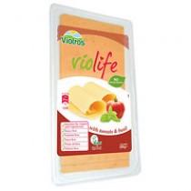 Lonchas veganas sabor queso con tomate y albahaca 200gr Violife