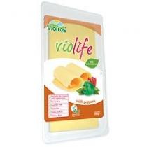 Lonchas veganas sabor queso con pimientos 200gr Violife