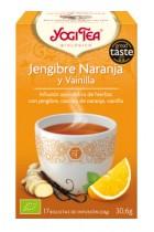 Yogitea Jengibre Naranja y Vainilla 17 bolsas