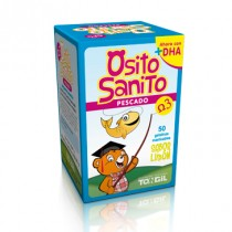 Osito sanito Pescado (Omega 3) 50 gelatinas Tongil