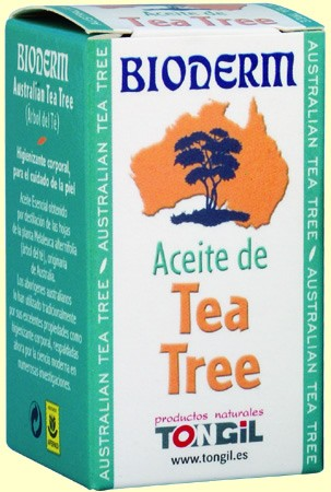 Aceite esencial árbol del té 15ML Bioderm Tongil