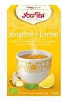Yogitea Jengibre y Limón 17 bolsas